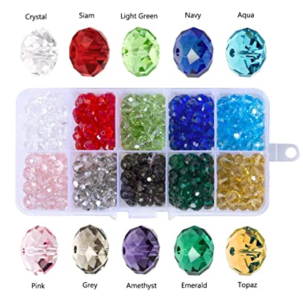 nuosen 6mm Crystal Beads 2cbbf1fc8e48