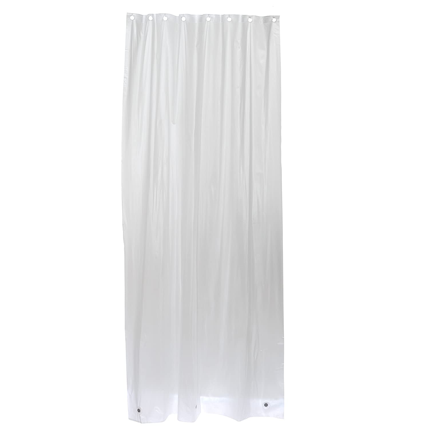 Amazon.com: Zenna Home H26KK, Vinyl Shower Liner, 42 in x 78 in ...