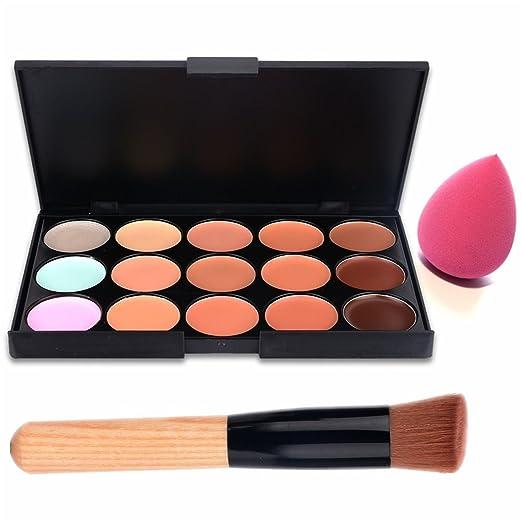 8 opinioni per Boolavard 15 colori Contorno Viso Correttore- palette make up- palette