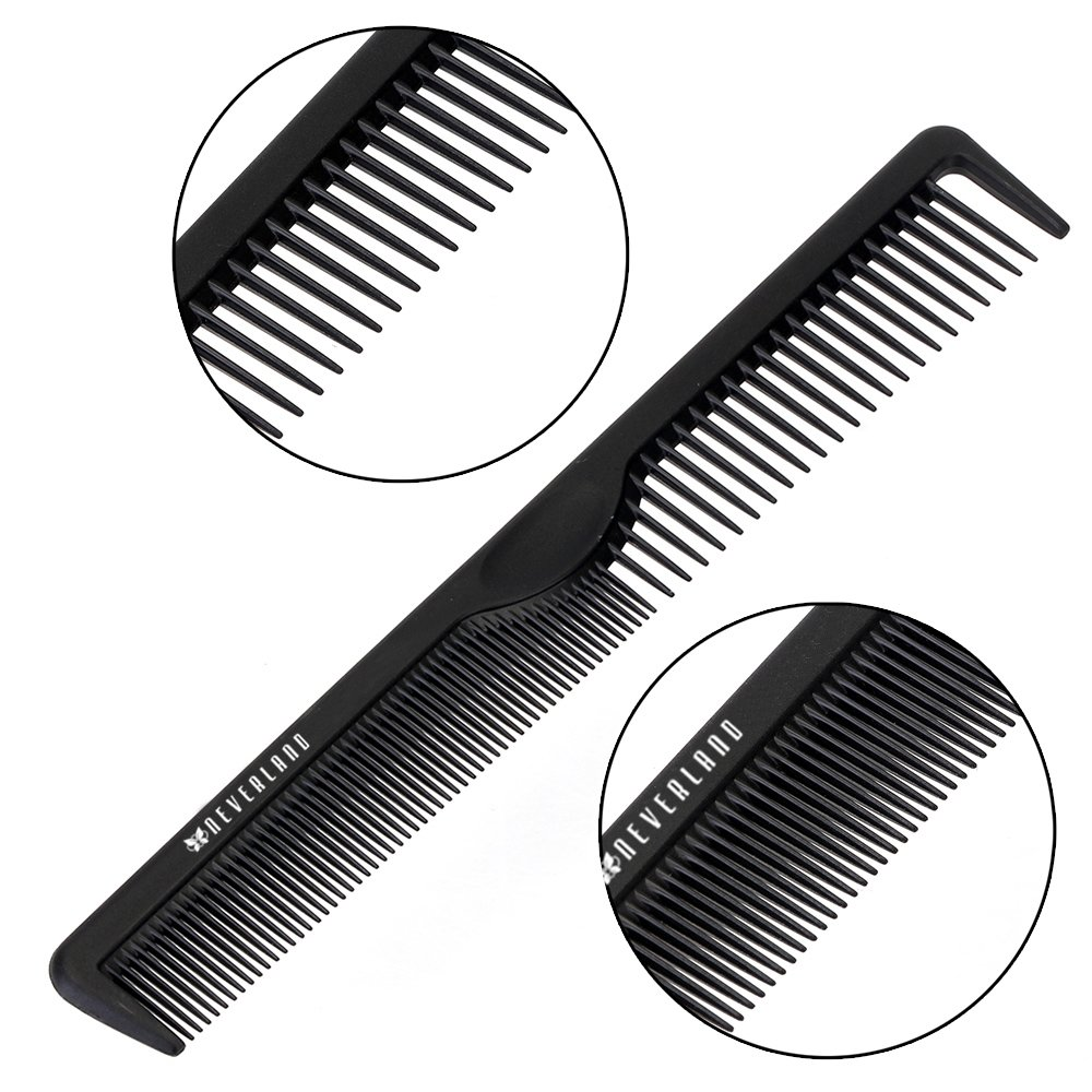 Neverland Beauty Hairstyle DIY Wide Tooth Plastic Curly Hair Care Handgrip Comb