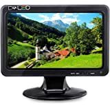 HD LED Monitor Screen Display for Raspberry Pi 3 –10.1 Inch, 1024x600, Color LCD Screen, Portable VGA Display, Stereo Speaker, HDMI, VGA, AV, TV, USB Outport from Elecrow