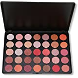 35 Colors of Smokey Eyeshadow Palette,DISINO Shimmer Warm Color Eye Shadow Palette For Catwalk Show Makeup
