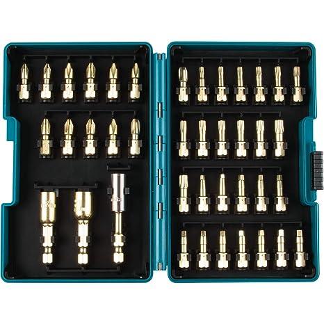 Makita B-65383 Impact Gold 40 piezas. Juego de puntas de torsión ...