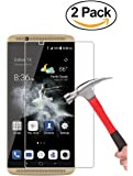 ZTE Axon 7 Mini Screen Protector, Wellci [2-Pack] High Definition Tempered Glass, Extreme Hardness, 2.5D Round Edge (Ultra Clear)