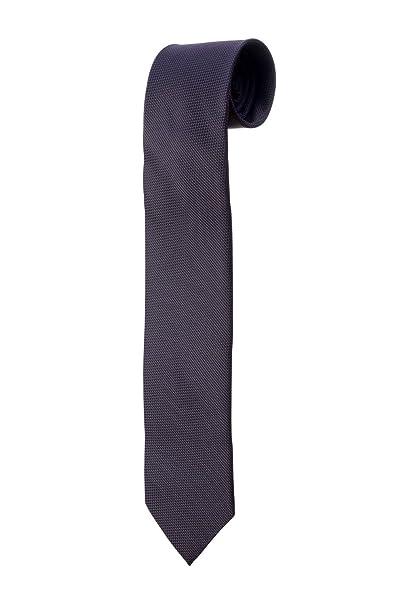 Oh La Belle Cravate Corbata azul noche y pequeños lunares
