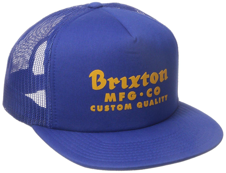 Brixton Cap Sadler Malla, unisex, Cap Sadler Mesh, azul cobalto, talla única