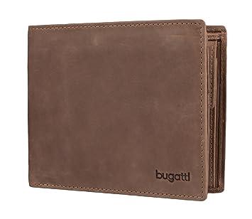 bugatti, bugatti Volo Geldbörse Leder 12 cm, braun