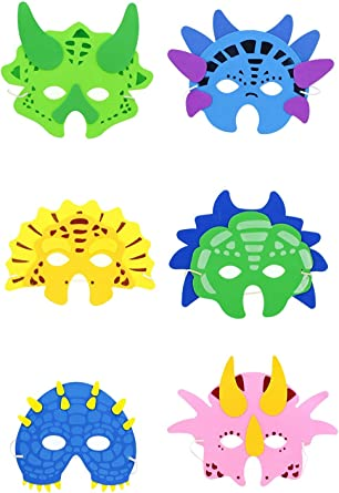 Zac/'s Alter Ego Pack of 12 Fun Foam Birthday Zoo Animal Party Masks for Children