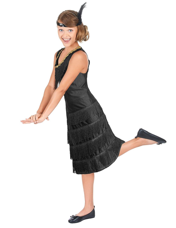 Generique - Disfraz de charlestón para niña 3-5 años (110 cm ...
