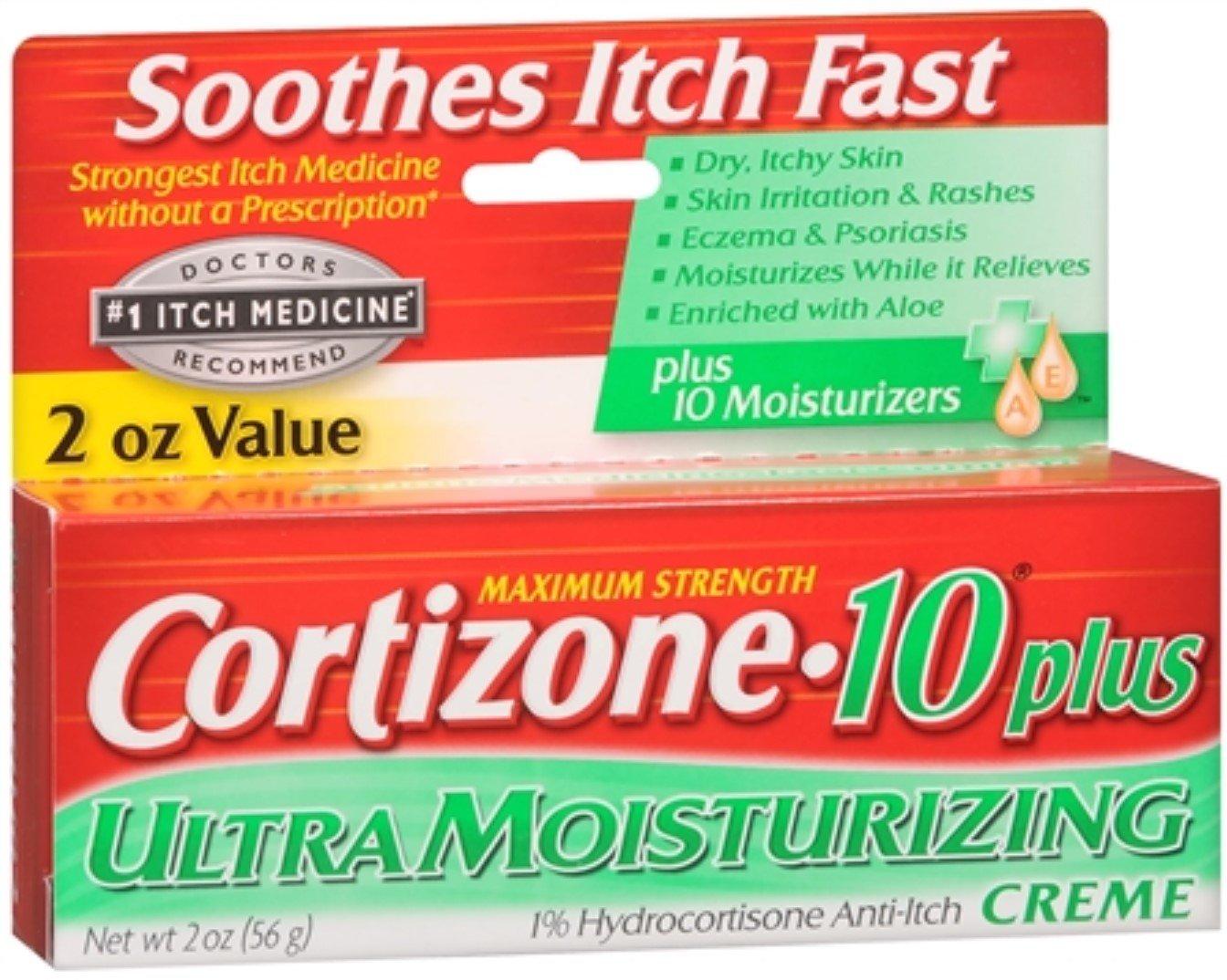 Cortizone-10 Plus Maximum Strength Anti-Itch Creme 2 oz (Pack of 11)