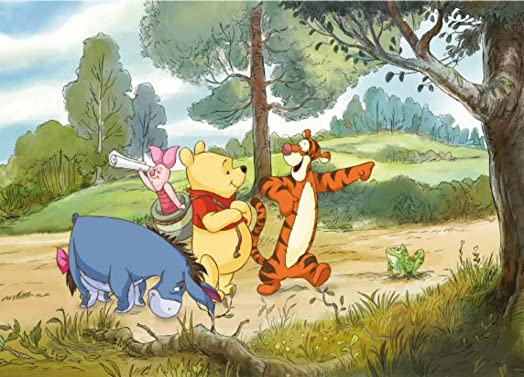 Winnie The Pooh Expedition Photo Wall Mural 254 X 184 Cm Part 98