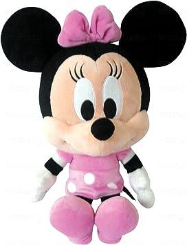 Mickey Mouse cabeza grande de peluche, diseño de Minnie cabeza grande