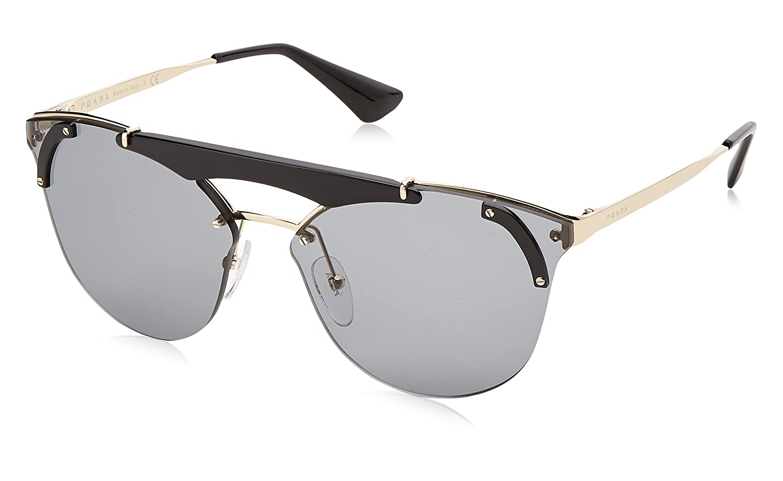 beaa36ca0c59 Prada PRADA ABSOLUTE ORNATE SPR 53US BLACK PALE GOLD GREY women Sunglasses   Amazon.com.au  Fashion