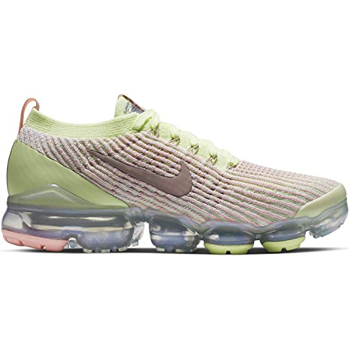 5c7779e1f93 Nike Women's W Air Vapormax Flyknit 3 Track & Field Shoes, Multicolour (Barely  Volt