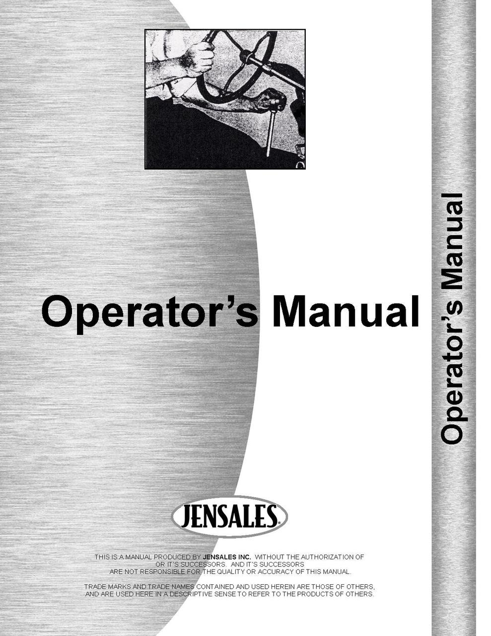 Hesston 5585 Round Baler Operators Manual (SN# R585-00001 and up): Jensales  Ag Products: Amazon.com: Books