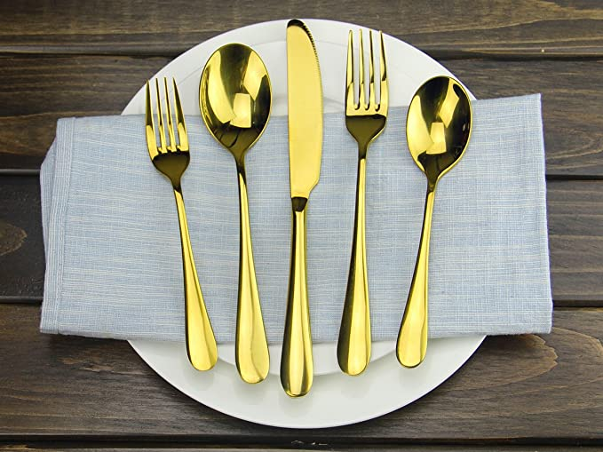 Amazon.com: AOOSY 6 pieces Matte Black 18/10 Stainless Steel Dinner Fork, Use for Home Kitchen or Restaurant (6 pieces Matte Black Forks): Kitchen & Dining