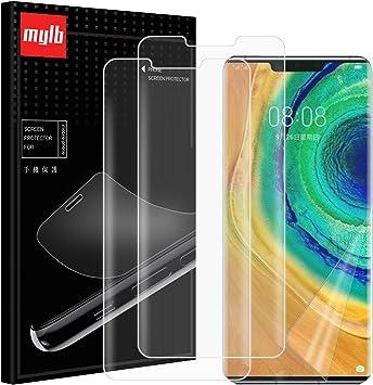 AOYIY Para Huawei Mate 30 Pro Protector de Pantalla,[3 Pack ...