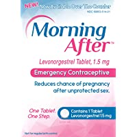 Morning After (TM) Pill, Levonorgestrel 1.5 mg Tablet, Emergency Contraceptive for Women