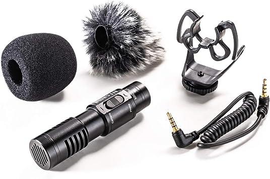 Nicama SGM8 Micrófono Universal para Grabación vídeo iPhone iPad ...
