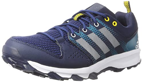 adidas AW17 Mens Galaxy Trail Running Shoes - Blue/White/Aqua - UK 7