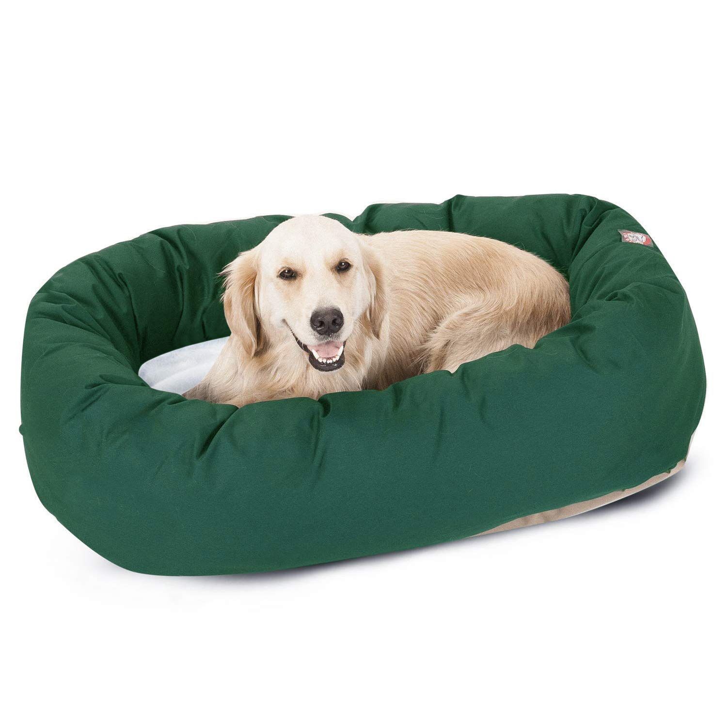 Majestic Pet Sherpa Bagel Dog Bed