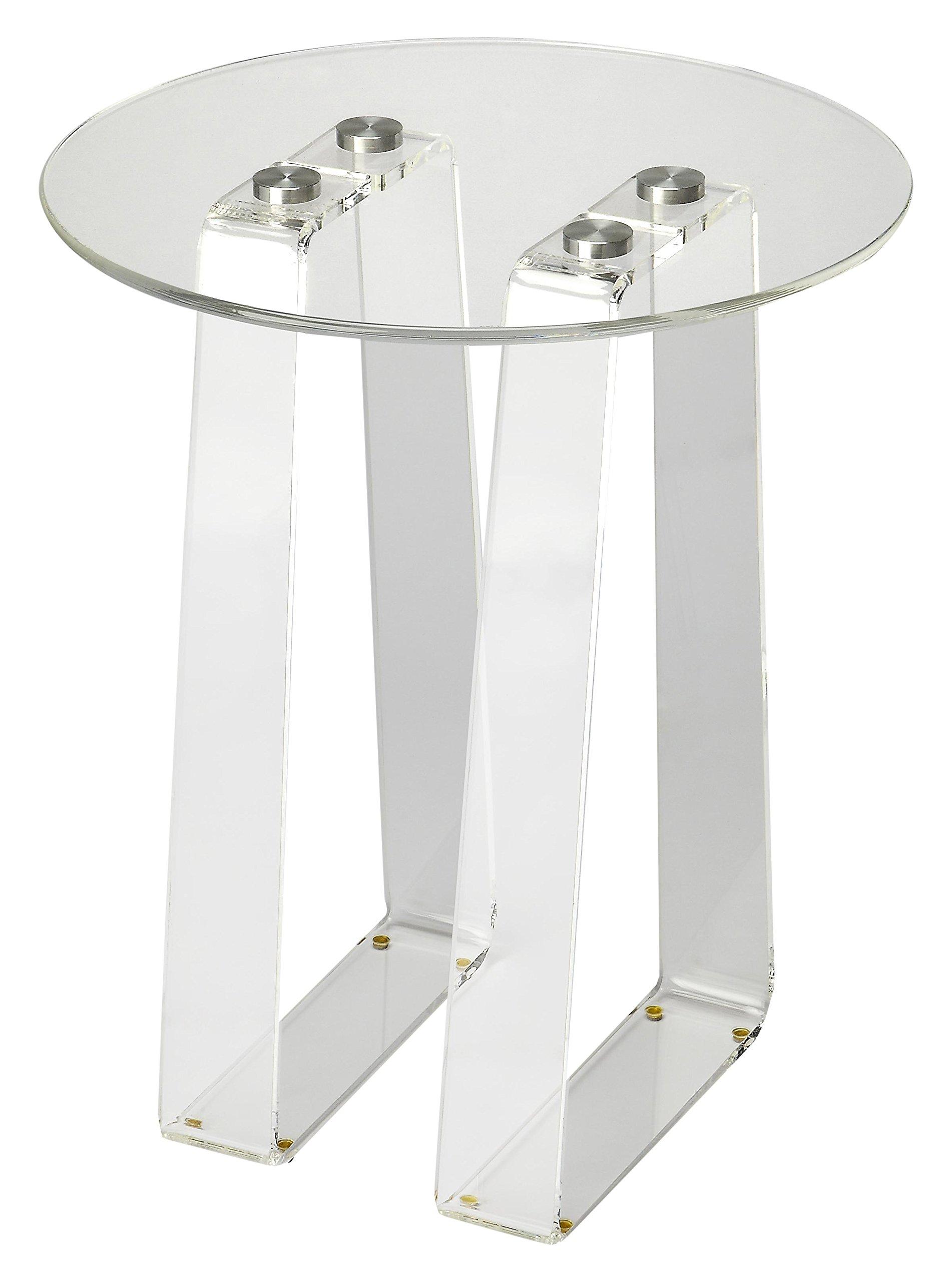 Butler Specialty Company 5166335 Side Table Blanca Acrylic, Clear