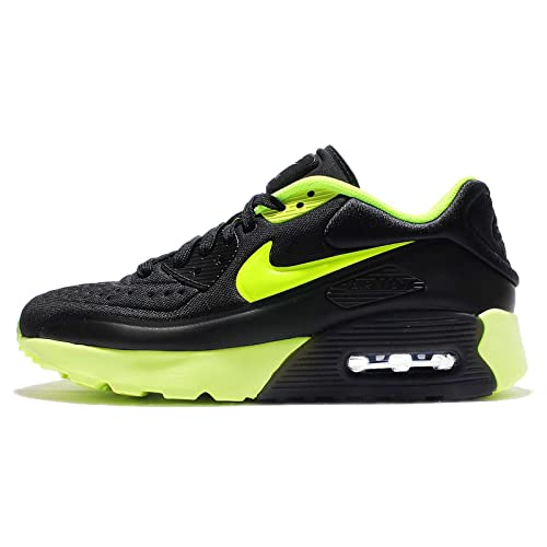 new arrival f138a c6dd5 Nike Kids Air Max 90 Ultra SE GS, Black Volt-Dark Grey, Youth Size 6   Amazon.co.uk  Shoes   Bags