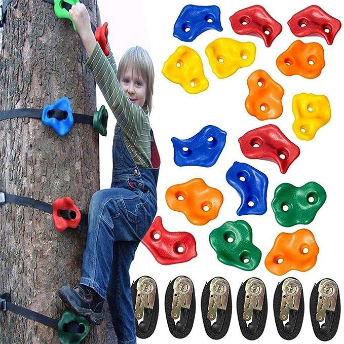 Asas de escalada para niños Escalada de árboles con 12 ...