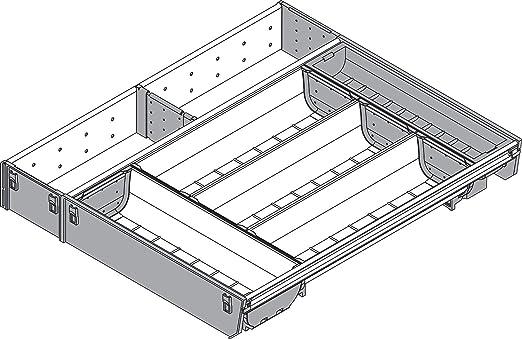 Ronin Furniture Fittings® Blum Orga de Line nevera Juego de ...