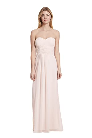dcb11dbf094 Samantha Paige Strapless Ruched A-line Floor Length Chiffon Formal Dress