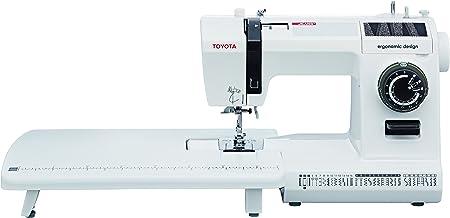Toyota máquina de Coser, plástico, Blanco, 19,2 x 41,2 x 29,2 cm ...