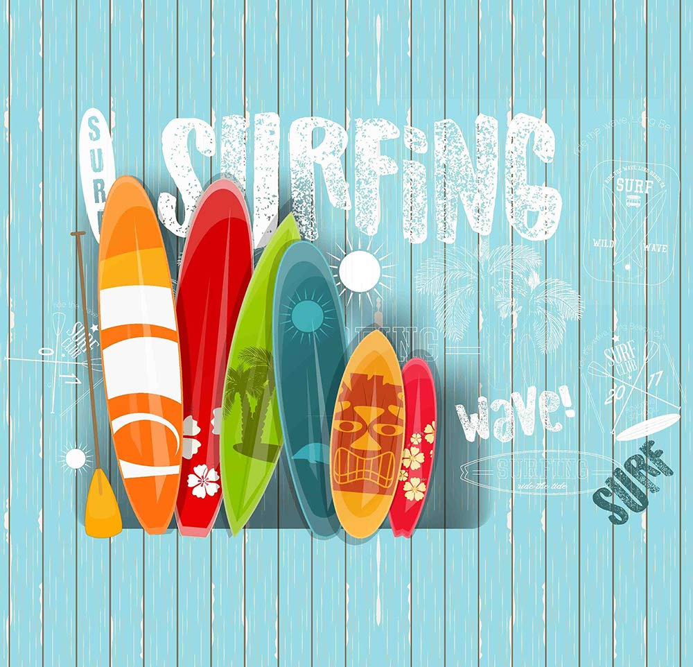. COTTON ARTean Funda Nordica Infantil//Juvenil Reversible Wave 150 Ancho x 260 cm. Largo Cama de 90