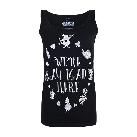 Disney Mad Here Camiseta para Mujer