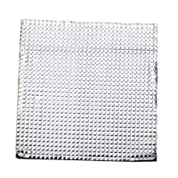 MagiDeal 3D Printer Heated Bed Thermal Insulator Cotton Heat Insulation Mat 400x400mm
