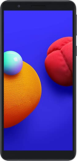 Samsung Galaxy M01 Core (Black, 1GB RAM, 16GB Storage) with...