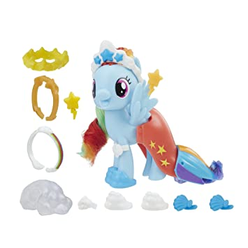 Buy My Little Pony The Movie Rainbow Dash Land And Sea Fashion Style