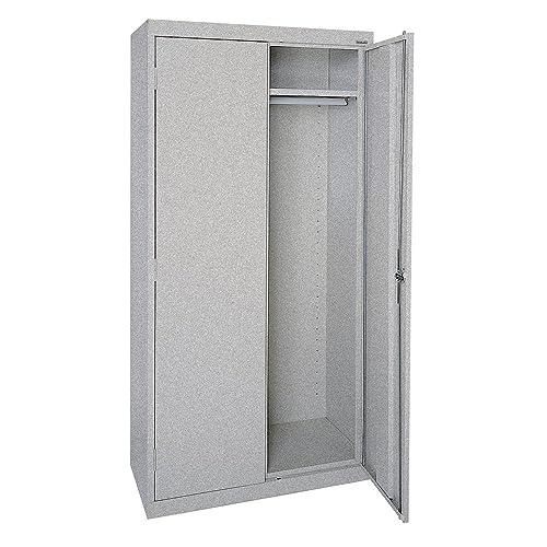 Sandusky Lee EAWR362472-MG Elite Series Wardrobe Storage Cabinet, 36 Width x 24 Length x 72 Height, Multi Granite