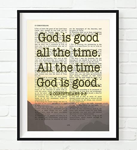 Amazoncom God Is Good All The Time 2 Corinthians 98 Vintage