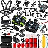 SmilePowo 51-in-1 Sport Camera Accessories Kit...