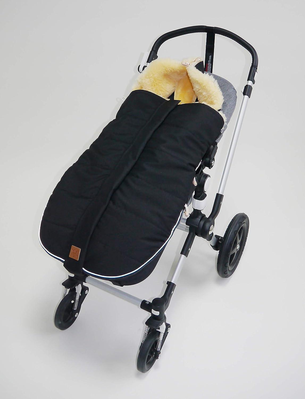 Kaiser 6540825 Allex Lammfell Kinderwagen Fußsack Schwarz 1 1 Kg Baby