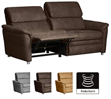 Cavadore Couchgarnitur Chalsay Inkl Relaxfunktion 3 Sitzer 2