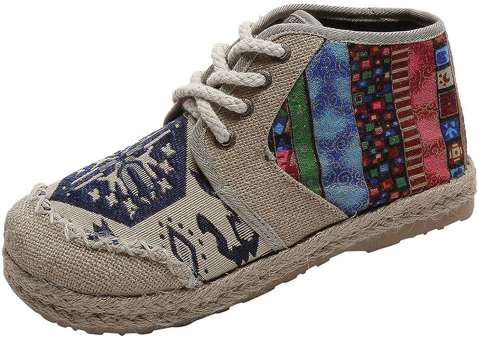 Longzjhd Sandales Plateforme pour Femmes Chaussures d/écontract/ées Respirantes Bout Rond Sandales de Plage Romaines Sandales Mode Bout Ouvert Confortable Vacances Loisir Respirant Plage