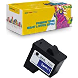 NYT Compatible High Yield Inkjet Cartridge Replacement for T0529 Black 10N0016 for Dell Photo All-in-one 720,A920 (Black,1-Pa