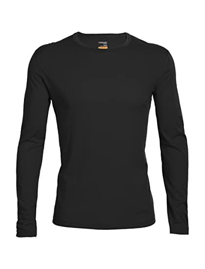 d6a3c0fb25 Amazon.com: Icebreaker Merino Men's Oasis Long Sleeve Crewe Top ...
