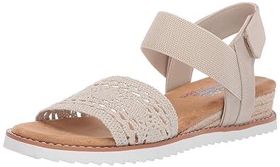 988d6f5cc3d46 Amazon.com | Skechers BOBS from Women's Desert Kiss - Hill Top | Sandals
