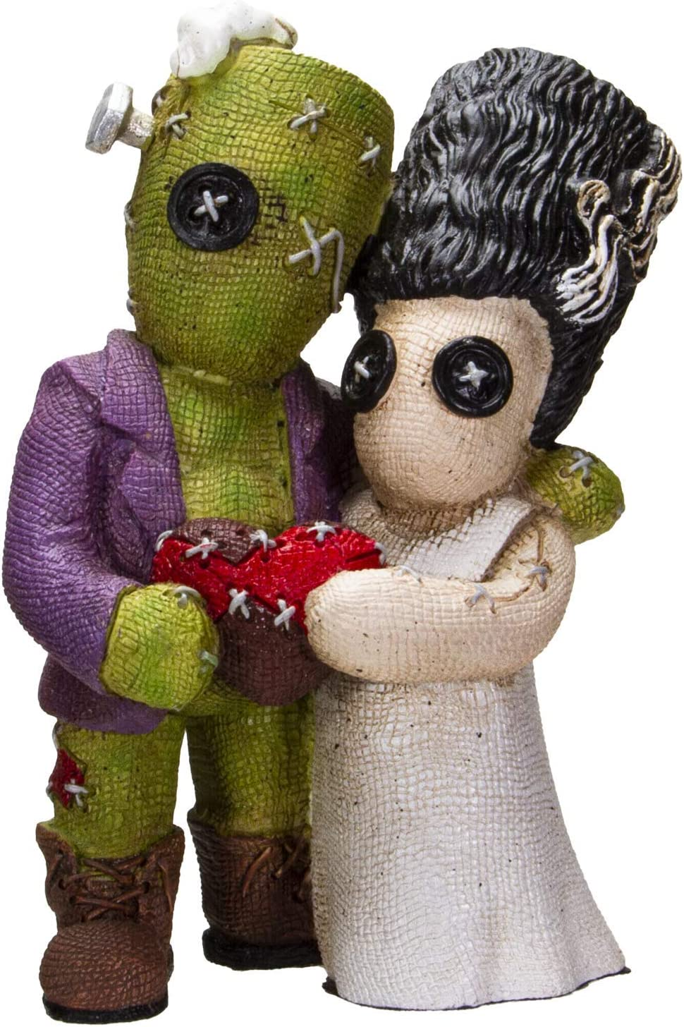 Pacific Giftware Immortal Love Frankenstein & His Bride Pinhead Monster Collection