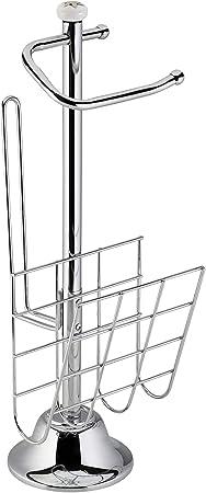 Space Home Soporte para Papel Absorbente Acero Especial Rollos Grandes Portarrollo de Papel de Cocina /Ø 20,5 cm