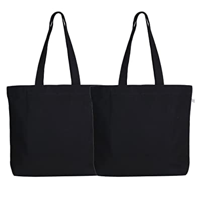 EcoRight Women s Canvas Resuable 100% Eco-Friendly Tote Bag (202 ... 030311bd5