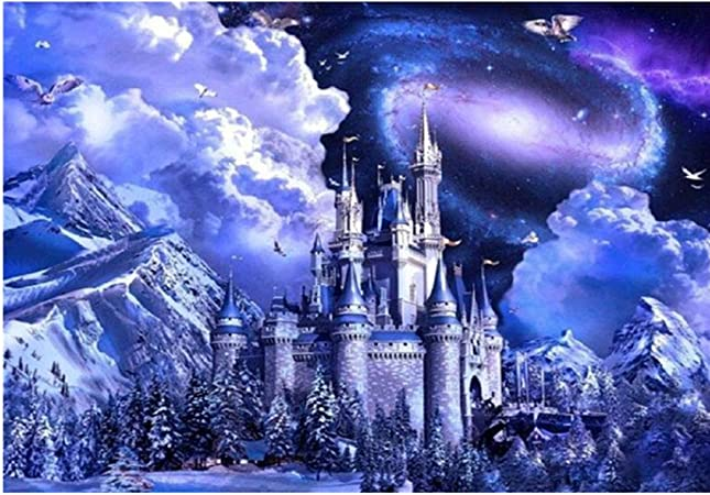 5D Diamond Painting Staron Hot Sale Full Drill DIY Diamond Cross Stitch Painting Number Kit 5D Diamond Crystal Rhinestone Embroidery Painting DIY Wall Art Decor Outer Space Starry Sky D❤️