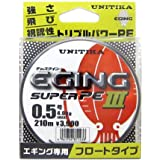 ユニチカ(UNITIKA) PEライン キャスライン エギングスーパーPEIII 210m